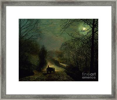 Forge Valley Framed Print