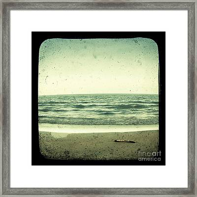 Forget Yesterday Framed Print