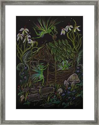 Forgetmenots Framed Print by Dawn Fairies