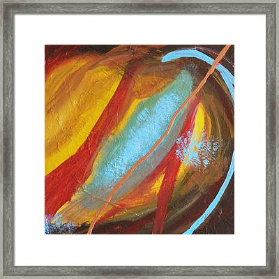 Forgiven Part Two Framed Print by Jennifer Anderson