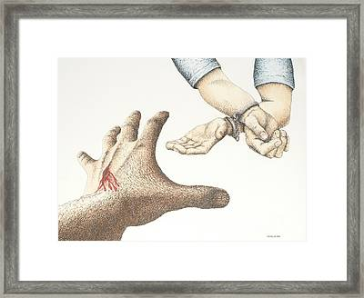 Forgiveness Framed Print