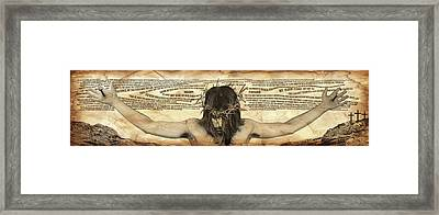 Forgiveness Framed Print by Vicki Zimmerly Carson