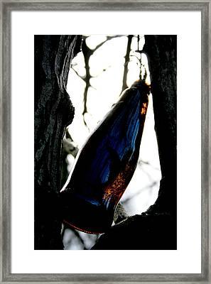 Forgotten Framed Print by Alexandra Harrell
