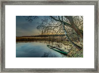 Forgotten And Sunk Framed Print