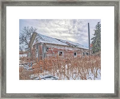 Forgotten Barn Framed Print