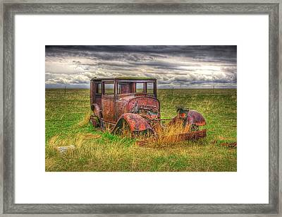 Forgotten By Time. Framed Print