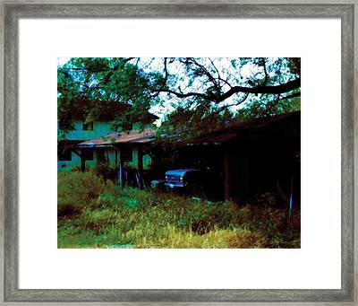 Forgotten Framed Print by Carl Perry