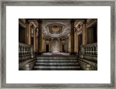 Forgotten Chateau Framed Print