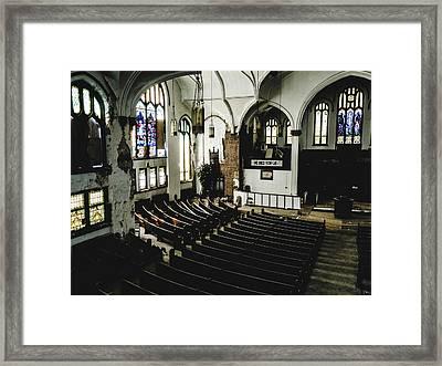 Forgotten Church Framed Print by Dylan Murphy