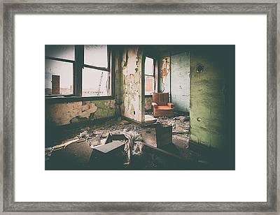 Forgotten Conversations Framed Print