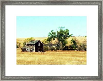 Forgotten Framed Print by Desiree Paquette