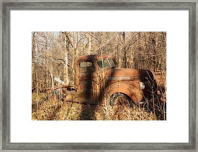 Forgotten Framed Print by Diane Merkle