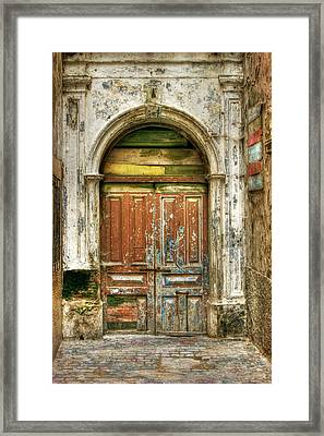 Forgotten Doorway Framed Print