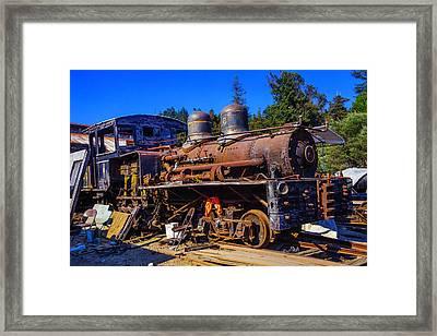 Forgotten Engine Framed Print