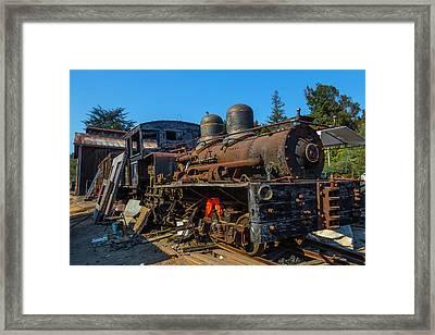 Forgotten Engine Number Six Framed Print