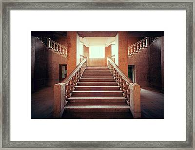 Forgotten Entrance Framed Print by Svetlana Sewell