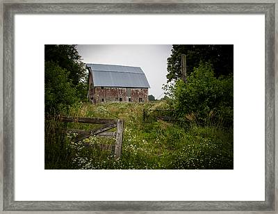 Forgotten Farm  Framed Print by Off The Beaten Path Photography - Andrew Alexander