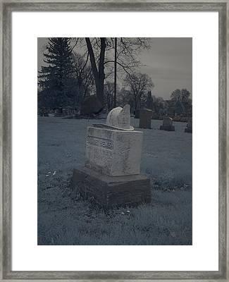 Forgotten Firefighter Framed Print by Joshua House
