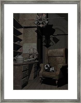 Forgotten Friend Framed Print by Sipo Liimatainen