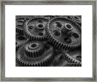 Forgotten Gears Framed Print