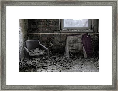 Framed Print featuring the digital art Forgotten Ideologies by Nathan Wright