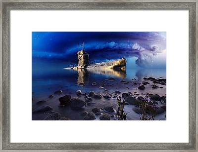 Forgotten In No Man's Land Framed Print