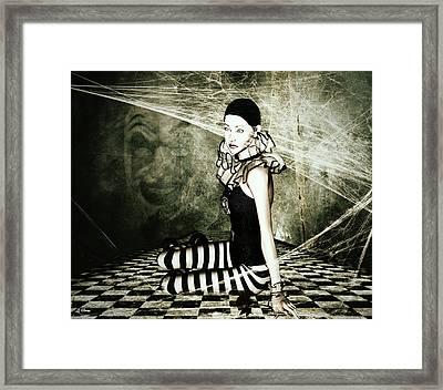Forgotten Jester Framed Print by G Berry