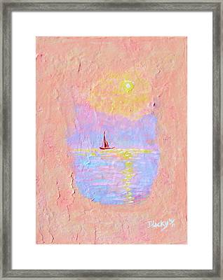 Forgotten Joy Framed Print by Donna Blackhall