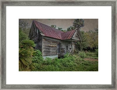 Forgotten Framed Print by Judy Hall-Folde
