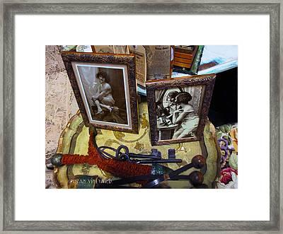 Forgotten Ladies Framed Print