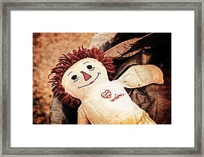 Forgotten Love Framed Print
