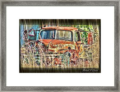 Forgotten Machine Framed Print by Michael Cleere