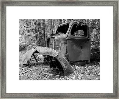Forgotten Framed Print by Mark Alan Perry