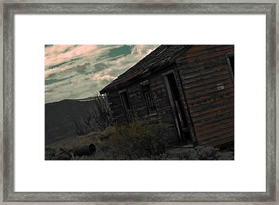 Forgotten Framed Print by Matthew Fredricey