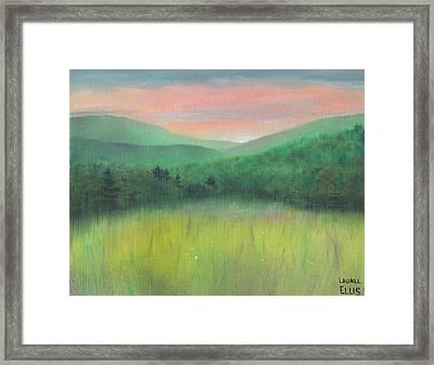 Forgotten Meadow Framed Print by Laurel Ellis