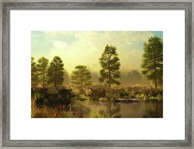 Forgotten Framed Print by Melissa Krauss