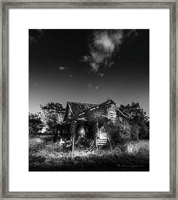 Forgotten Memories Framed Print by Marvin Spates