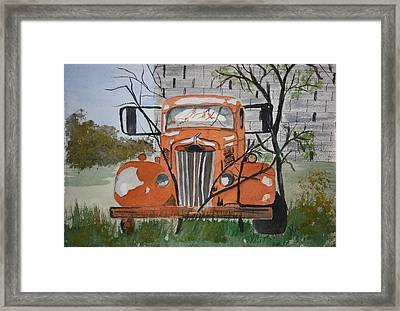Forgotten Framed Print by Michele Turney