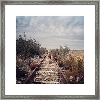 Forgotten Path Framed Print by Kristie Marz