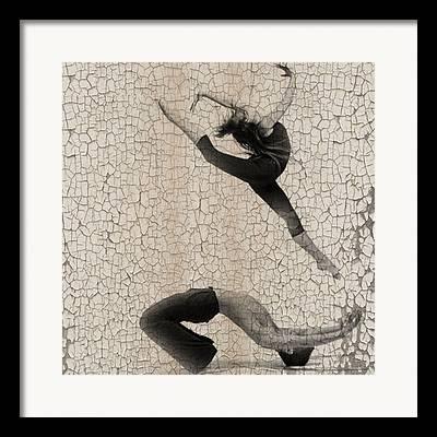 Ballet Digital Art Framed Prints