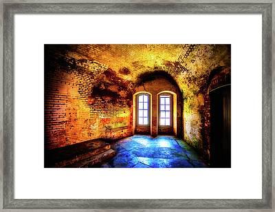 Forgotten Room Framed Print by Garry Gay
