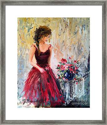 Forgotten Rose Framed Print by Jennifer Beaudet