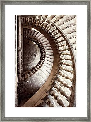Forgotten Stair Framed Print by Svetlana Sewell