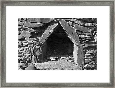 Forgotten Stone Oven In Alentejo Framed Print by Angelo DeVal