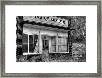 Forks Of Buffalo Framed Print