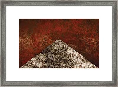Form Framed Print by Jack Zulli