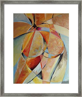 Form Framed Print by Michael Echekoba