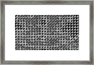 Formart 1 Geometry-design Framed Print