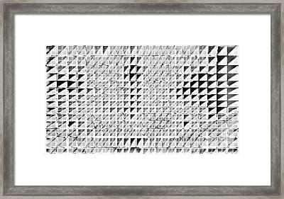 Formart 3 Geometry-design Framed Print