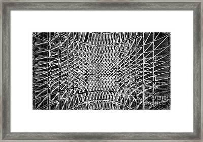 Formart 5 Geometry-design  Framed Print